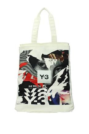 Y3 Yamamoto Handbags adidas Men Fabric  Beige Cream