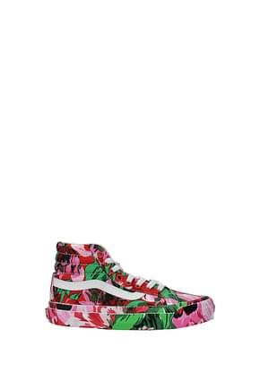 Kenzo Sneakers vans Women Fabric  Multicolor