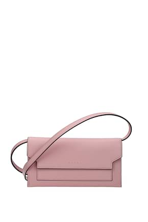 Marni Wallets Women Leather Pink