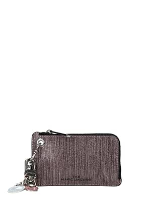 Marc Jacobs Coin Purses Women Leather Pink