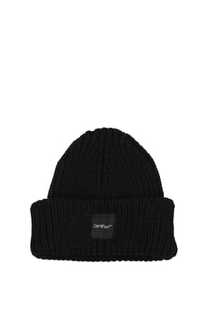 Off-White Hats Men Wool Black