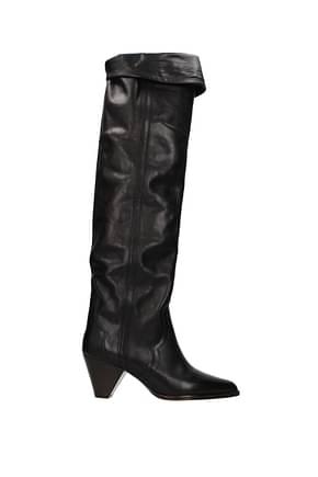 Isabel Marant Boots Women Leather Black