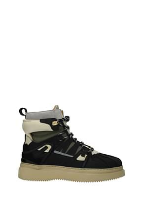 Buscemi Sneakers Homme Suède Noir