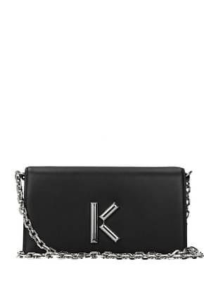 Kenzo Wallets Women Leather Black