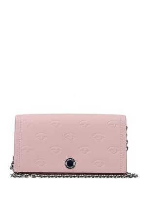Kenzo Clutches Women Leather Pink Rosee