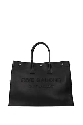 Saint Laurent Handbags tote Men Leather Black