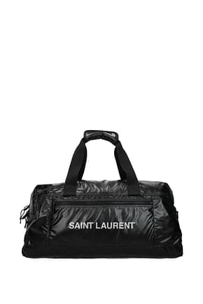 Saint Laurent Borsoni nuxx Uomo Nylon Nero