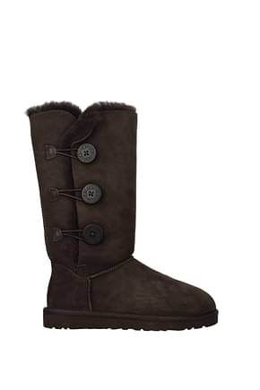 UGG Stivaletti bailey Donna Camoscio Marrone Chocolate