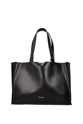 Pollini Shoulder bags Women Polyurethane Black Black