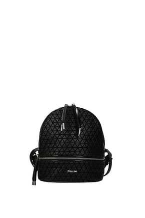 Pollini Backpacks and bumbags Women Polyurethane Black