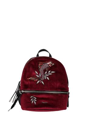 Pollini Backpacks and bumbags Women Velvet Red Bordeaux