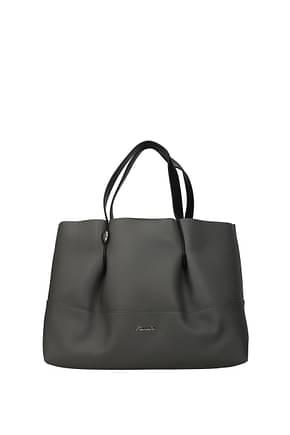Pollini Handbags Women Polyurethane Gray
