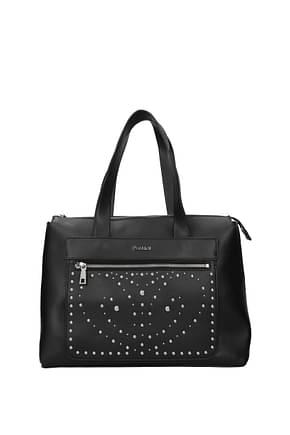 Pollini Handbags Women Polyurethane Black Black