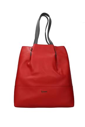 Pollini Shoulder bags Women Polyurethane Red Ruby
