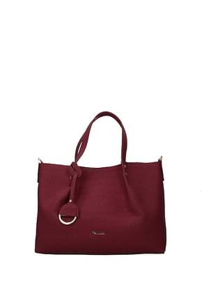Pollini Handbags Women Polyurethane Red Bordeaux