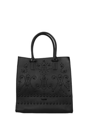 Pollini Handbags Women Leather Black