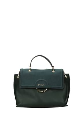 Pollini Crossbody Bag Women Polyurethane Green Olive