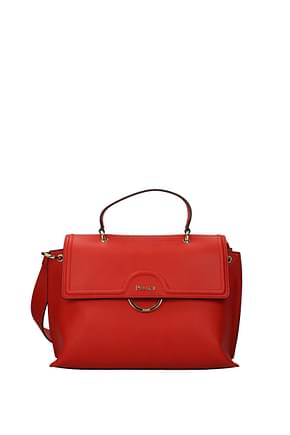Pollini Shoulder bags Women Polyurethane Red Bright Red