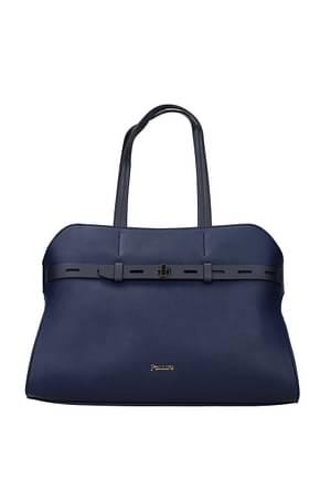 Pollini Shoulder bags Women Polyurethane Blue Royal Blue