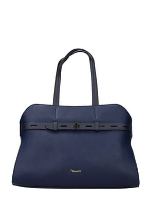 Pollini Shoulder bags Women Polyurethane Blue Royal Blue