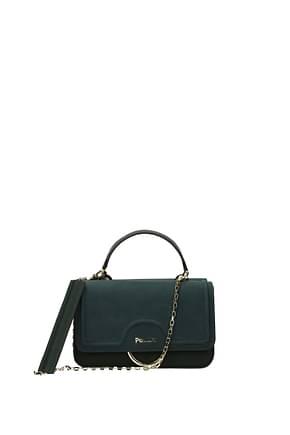 Pollini Handbags Women Polyurethane Green Olive