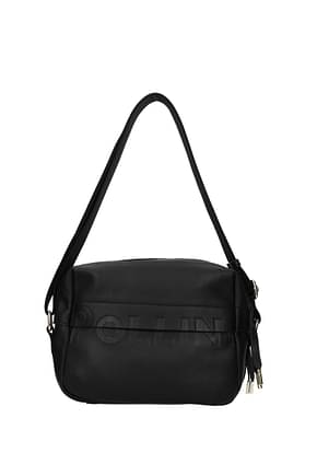 Pollini Crossbody Bag Women Polyurethane Black