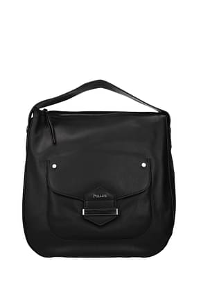 Pollini Handbags Women Polyurethane Black