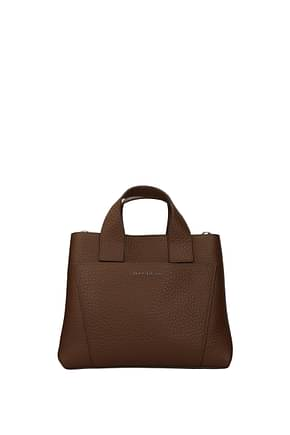 Orciani Handbags Women Leather Brown Caramel