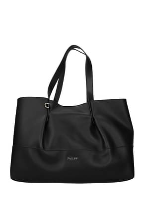 Pollini Shoulder bags Women Polyurethane Black