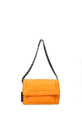 Marc Jacobs Shoulder bags Women Leather Orange Fluo Orange