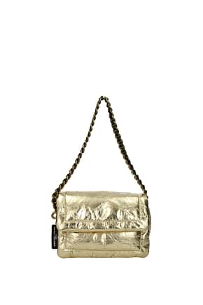 Marc Jacobs Shoulder bags pillow bag Women Leather Gold