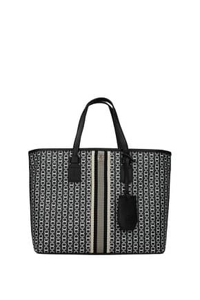 Tory Burch Handbags gemini Women Fabric  Black
