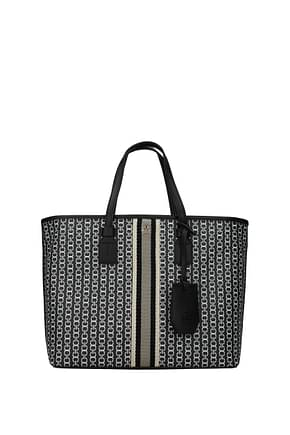 Tory Burch Handbags gemini Women Fabric  Black