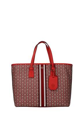 Tory Burch Handbags gemini Women Fabric  Red Sea Coral