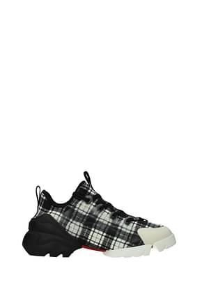 Christian Dior Sneakers d connect Donna Tessuto Nero