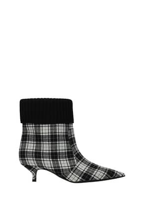 Christian Dior Stiefeletten beat Damen Stoff Mehrfarben