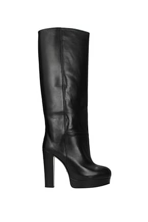 Gucci Boots charlotte Women Leather Black