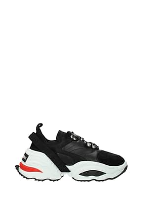 Dsquared2 Sneakers Men Leather Black