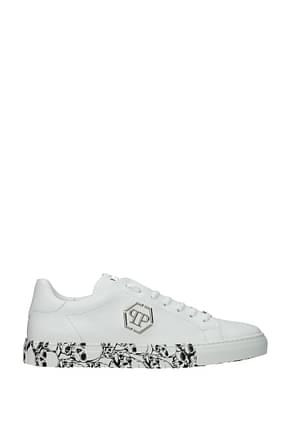 Philipp Plein Sneakers low top Men Leather White