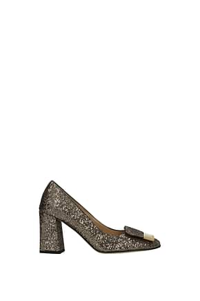 Sergio Rossi Pumps sr1 Women Glitter Gold