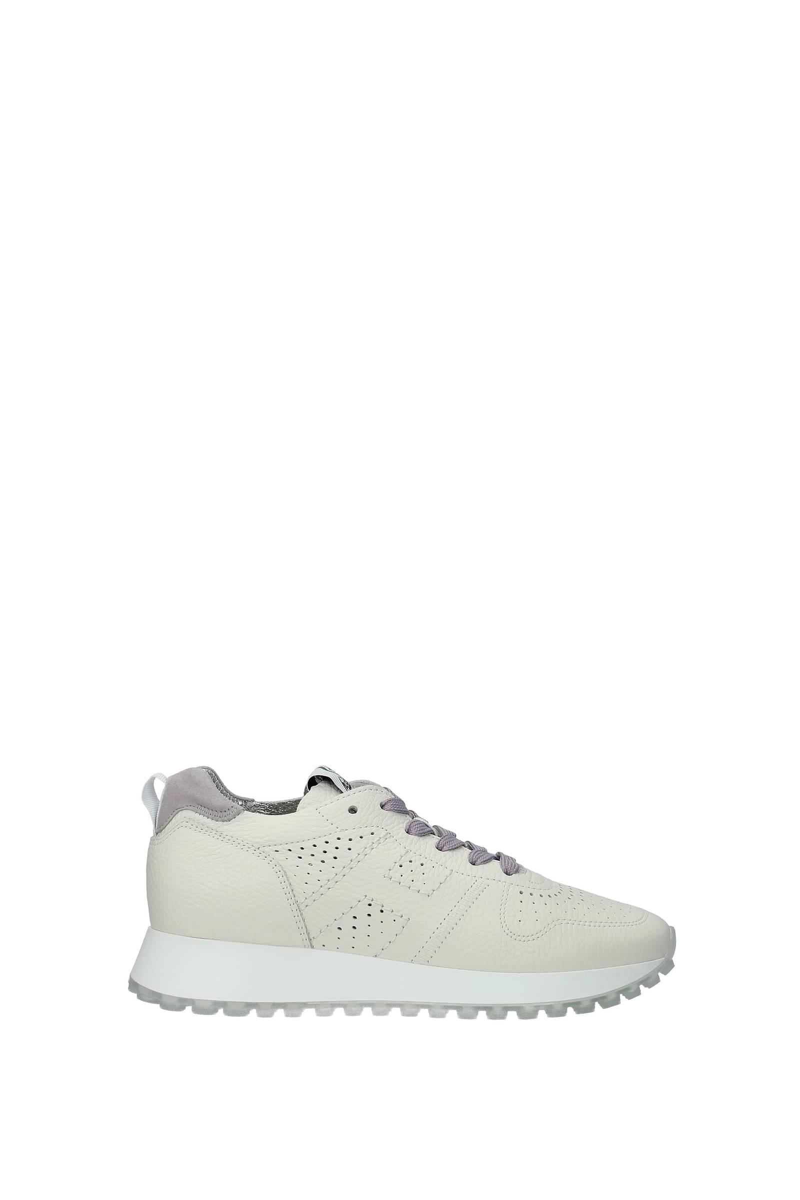 Hogan Sneakers h429 Donna Pelle Beige Arenaria