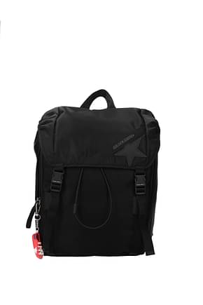 Golden Goose Backpack and bumbags journey Men Fabric  Black