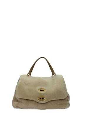 Zanellato Handbags postina Women Fur  Beige Turtledove
