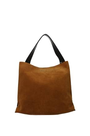 Orciani Handbags Women Suede Brown Canyon
