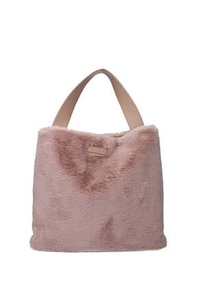Orciani Handbags Women Eco Fur Pink Powder Pink