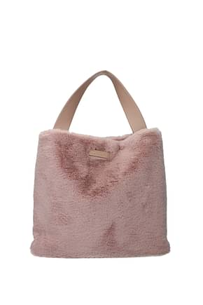 Orciani Handbags Women Eco Fur Pink Powder Pink