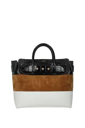 Burberry Handbags Women Leather Multicolor