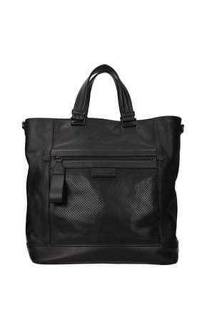 Bottega Veneta Handbags Men Leather Black