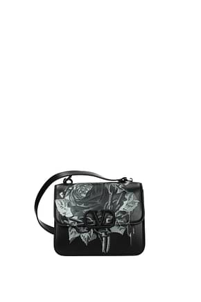 Valentino Garavani Crossbody Bag Women Leather Black