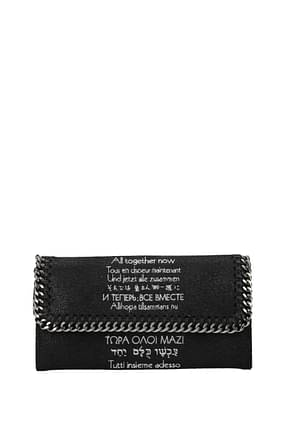 Stella McCartney Billeteras the beatles Mujer Eco Piel Negro